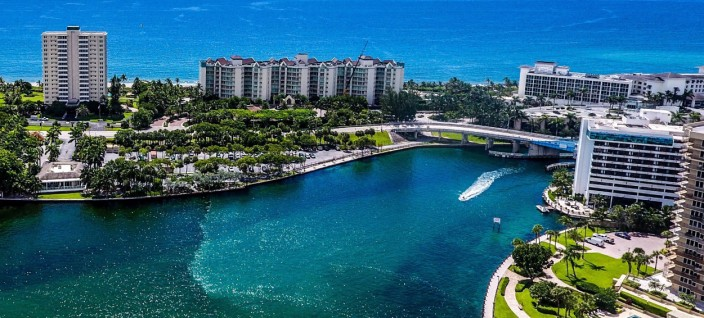 Panoramic View of Boca Raton