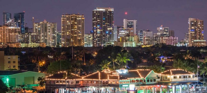 Panoramic View of Fort Lauderdale